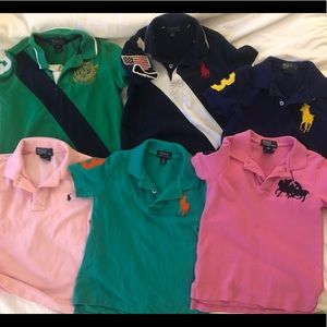 Boys 4T Ralph Lauren Polo shirt bundle